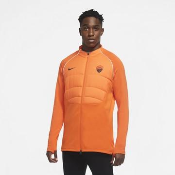 Veste survêtement AS Roma ThermaPad orange 2020/21