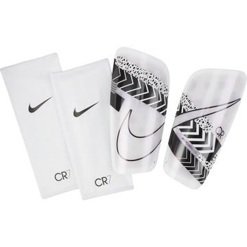 Protège-tibias Nike CR7 Lite blanc noir