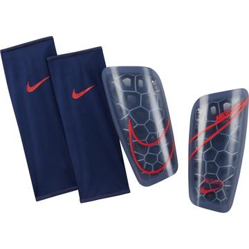 Protège-tibias Nike Lite bleu rouge
