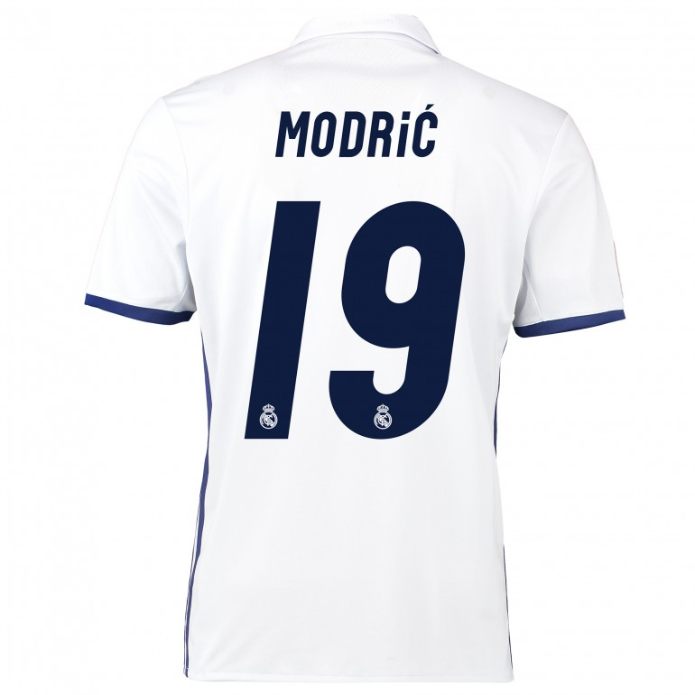 Maillot Modric Real Madrid domicile 2016 - 2017