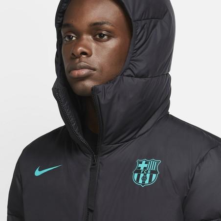 Manteau long FC Barcelone noir vert 2020/21