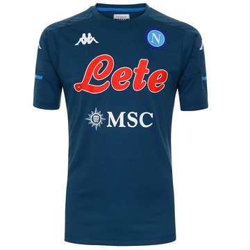 Maillot entraînement Naples bleu foncé 2020/21