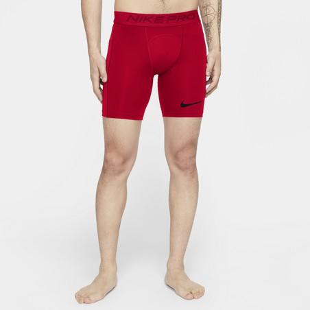 Sous-short Nike Pro rouge