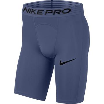Sous-short long Nike Pro bleu