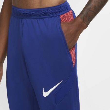 Pantalon survêtement Nike Strike bleu rouge