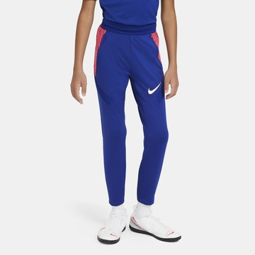 Pantalon survêtement junior Nike Strike bleu rouge