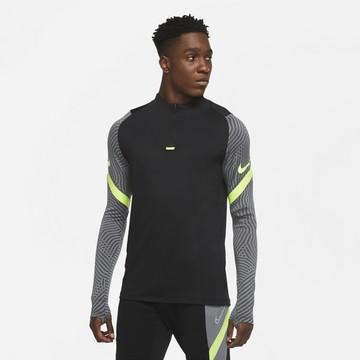 Sweat zippé Nike Strike noir jaune