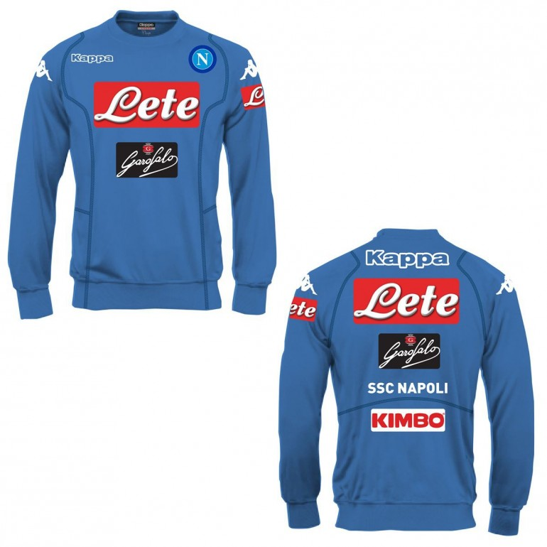 Sweat col rond Naples bleu 2016 - 2017