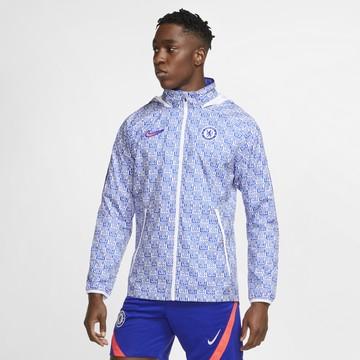 Veste imperméable Chelsea bleu blanc 2020/21