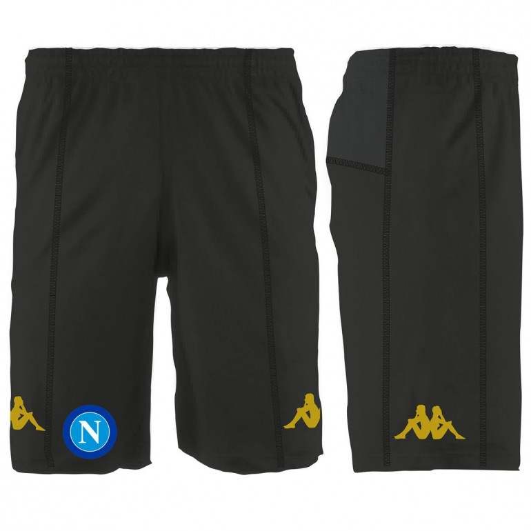 Short entraînement Naples noir 2016 - 2017
