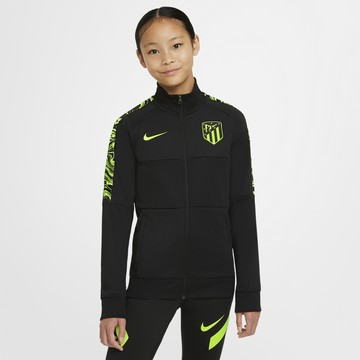 Veste survêtement junior Atlético Madrid Anthem noir jaune 2020/21