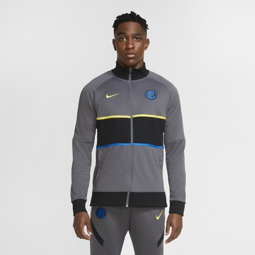 Veste survêtement Inter Milan Anthem I96 gris 2020/21