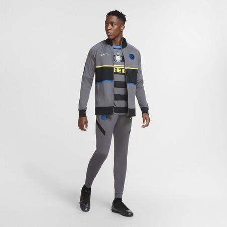 Veste survêtement Inter Milan Anthem I96 gris 2020/21