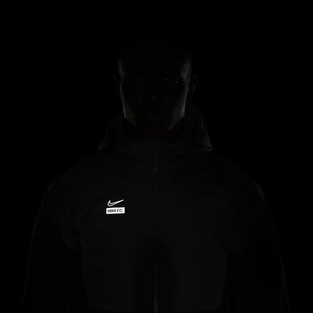 Veste survêtement Nike F.C. Winter gris