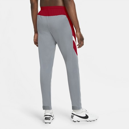 Pantalon survêtement Nike Academy gris rouge 2020/21