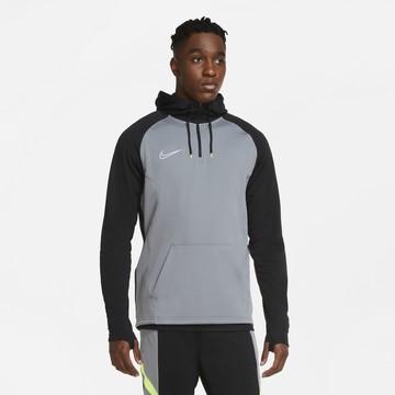 Sweat zippé à capuche Nike Academy gris noir
