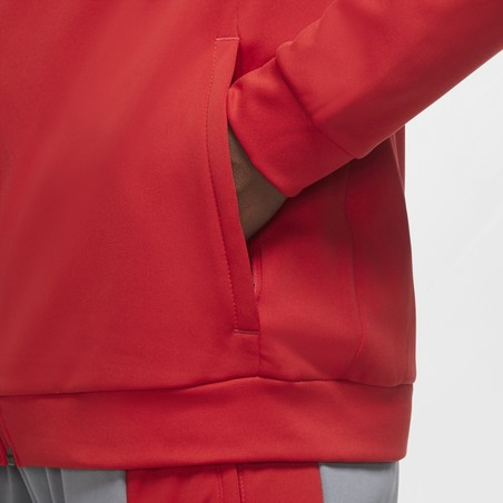 Veste survêtement Nike Academy rouge