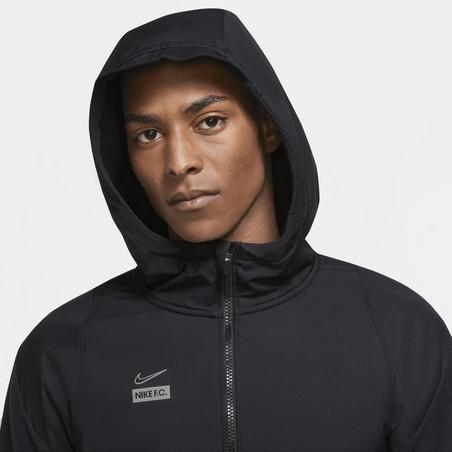 Veste survêtement Nike F.C. Winter noir