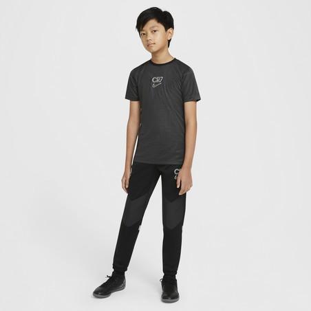 Maillot entraînement junior Nike CR7 noir