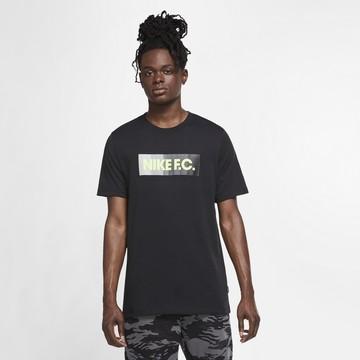 T-shirt Nike F.C. noir jaune