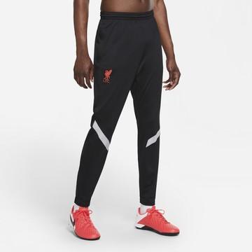 Pantalon survêtement Liverpool Strike noir rouge 2020/21