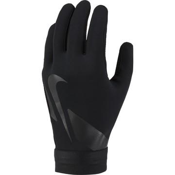 Gants joueurs Nike Academy Hyperwarm noir gris