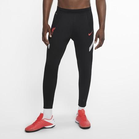Pantalon survêtement Liverpool VaporKnit noir rouge 2020/21
