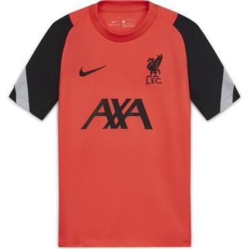 Maillot entraînement junior Liverpool rouge noir 2020/21