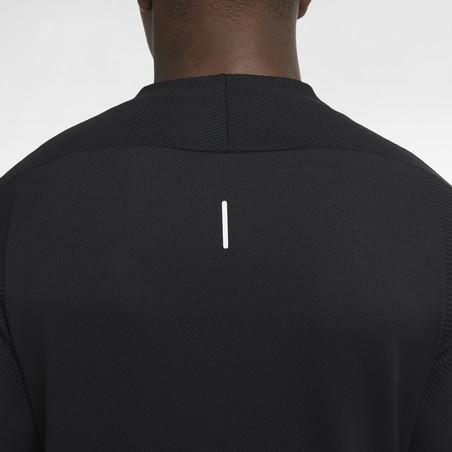 Sweat zippé Nike Vaporknit Pad noir