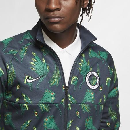 Veste survêtement Nigéria Anthem I96 vert 2020/21