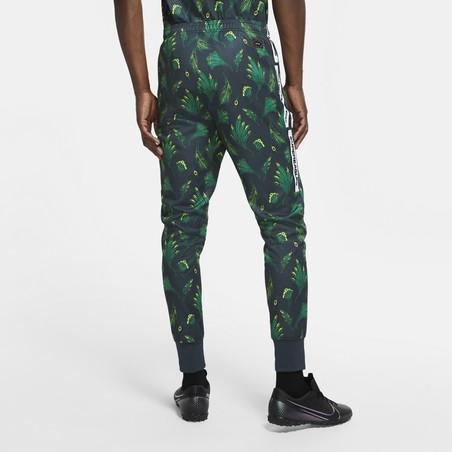 Pantalon survêtement Nigéria noir vert 2020/21