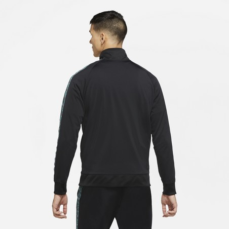 Veste survêtement FC Barcelone JDI noir vert 2020/21