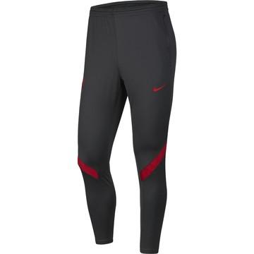 Pantalon survêtement Liverpool Strike gris rouge 2020/21