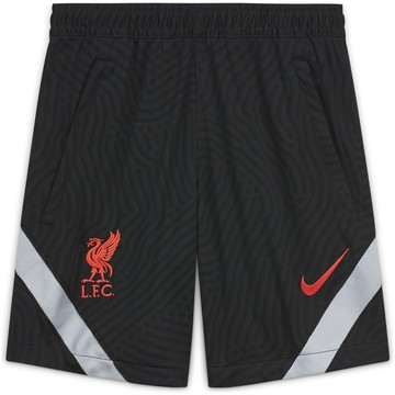 Short entraînement junior Liverpool noir gris 2020/21