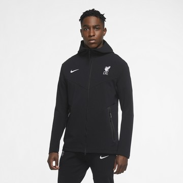 Veste survêtement Liverpool TechFleece noir 2020/21