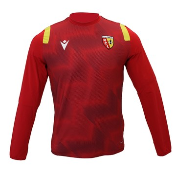 Sweat entraînement junior RC Lens rouge 2020/21
