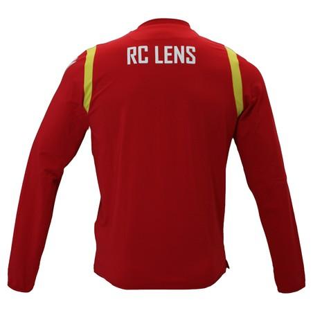 Sweat entraînement junior RC Lens rouge 2020/21