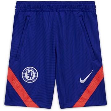 Short entraînement junior Chelsea bleu rouge 2020/21