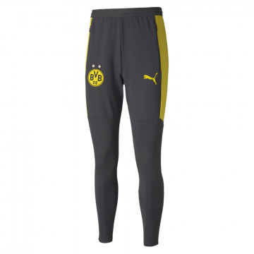 Pantalon survêtement Dortmund noir jaune 2020/21