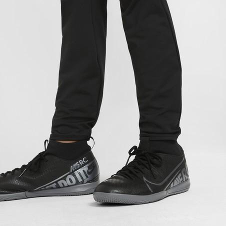 Pantalon survêtement junior Nike Strike noir jaune