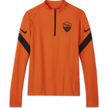 Sweat zippé junior AS Roma orange 2020/21