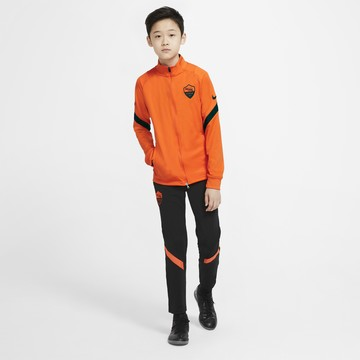 Ensemble survêtement junior AS Roma orange noir 2020/21