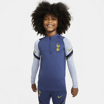 Sweat zippé junior Tottenham bleu jaune 2020/21