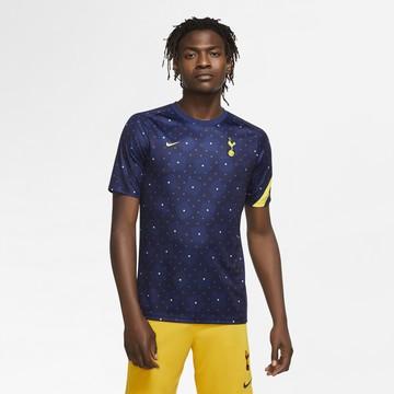 Maillot avant match Tottenham bleu jaune 2020/21