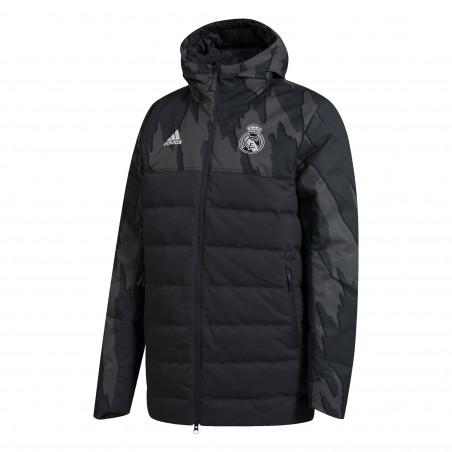 Doudoune Real Madrid noir 2020/21