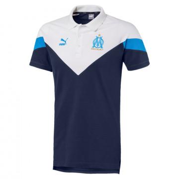 Polo OM Iconic blanc bleu 2019/20