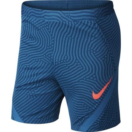 Short entraînement Nike Strike bleu rouge