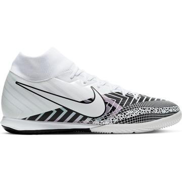 Nike Mercurial Superfly VII Academy Indoor blanc noir