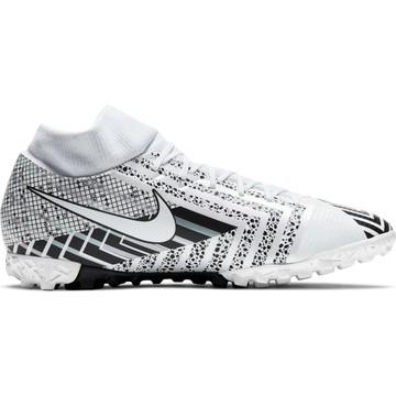 Nike Mercurial Superfly VII Academy Turf blanc noir