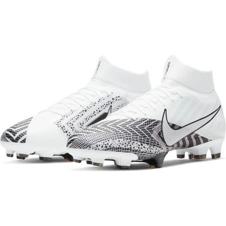 Nike Mercurial VII Pro FG blanc noir